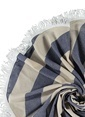 Sade'ce Stripes Roundie Lacivert